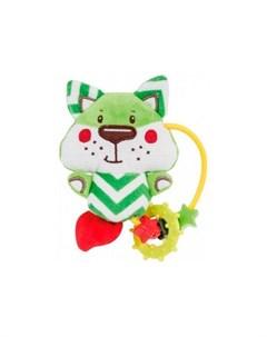 Погремушка Мягкая игрушка с прорезывателем Forest Friends Лисенок Canpol