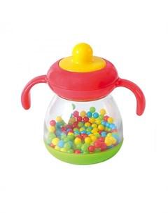 Погремушка Бутылочка c шариками Playgo