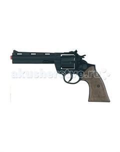 Игрушечное оружие Револьвер Police на 12 пистонов черный Gonher