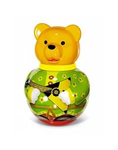 Развивающая игрушка Неваляшка большая Бурый медведь Потапыч Stellar