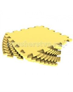 Игровой коврик Мягкий пол универсальный с кромками 30х30x0 9 см Eco cover