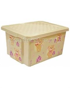 Ящик для хранения игрушек X Box 17 л Полимербыт