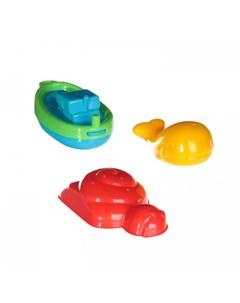 Игрушка для ванной Лодка морская звезда кит 5027 Fun time
