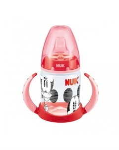 Поильник First Choice Disney пластик 150 мл с силиконовой насадкой Микки Маус Nuk