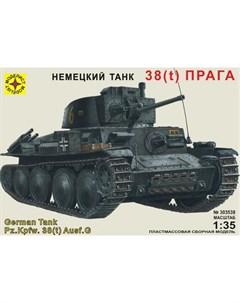Модель немецкий танк 38 t Прага Моделист