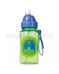 Поильник Zoo Straw Bottle 350 мл Skip hop