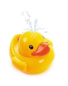 Игрушка фонтан для купания Утенок со светом и звуками Жирафики