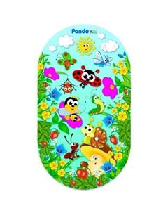 Коврик Kids для ванны Полянка 69х39 см Pondo