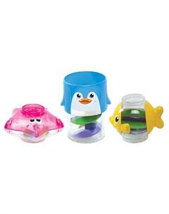 Игрушка для ванной Пирамидка 3 в 1 Munchkin