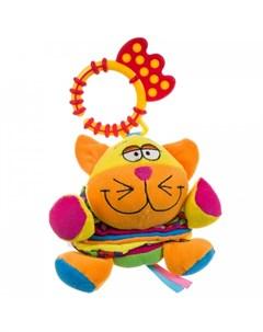 Подвесная игрушка Развивающая Кот гармошка Bondibon