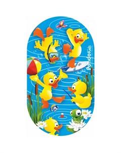 Коврик Kids для ванны Утята 69х39 Pondo