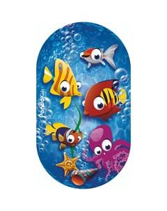 Коврик Kids для ванны Рыбки 69х39 Pondo