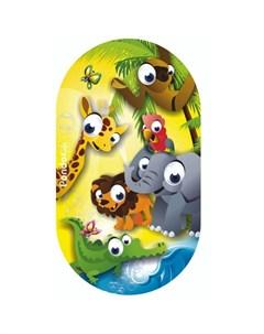 Коврик Kids для ванны Африка 69х39 Pondo