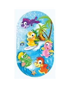 Коврик Kids для ванны Дракоши 69х39 Pondo