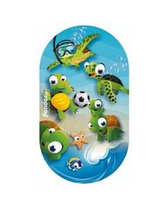 Коврик Kids для ванны Черепашки 69х39 Pondo