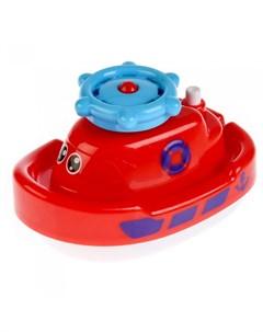 Игрушка для купания Кораблик с фонтаном Умка