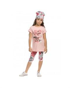 Комплект для девочек туника лосины GFATL3157 Pelican