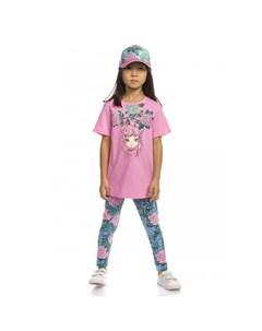 Комплект для девочек туника лосины GFATL3159 Pelican