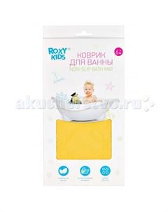 Коврик Антискользящий резиновый коврик для ванны 35x76 см Roxy kids