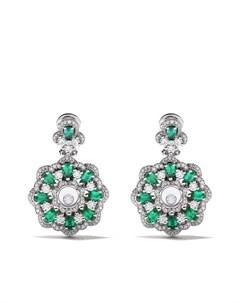 золотые серьги Happy Diamonds Chopard
