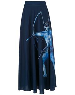 Юбка миди Arara Azul Isolda