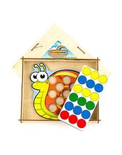 Мозаика Улитка 067108 Woodlandtoys