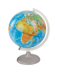 Глобус физико политический 25 см с подсветкой Глобусный мир