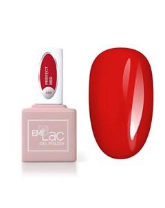Гель лак Lac 230 Идеальный красный 9 мл Emi
