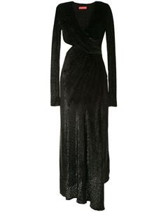 Фактурное платье с вырезами Manning cartell