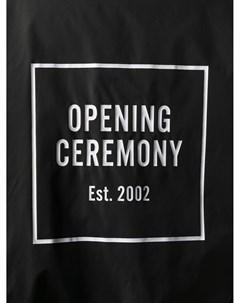 Тренч на пуговицах с логотипом Opening ceremony