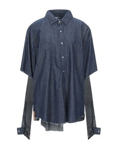 Джинсовая рубашка Vetements x levi's