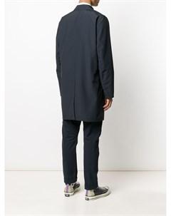 Двустороннее однобортное пальто Ben Kired