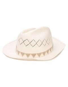 шляпа федора Crown Super duper hats
