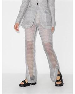 Полупрозрачные расклешенные брюки Elisabeth Cecilie bahnsen