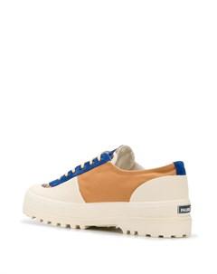 кроссовки с камуфляжным принтом Superga