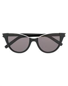 Солнцезащитные очки в оправе кошачий глаз Saint laurent eyewear