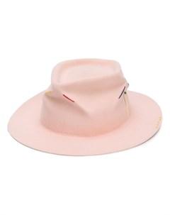 шляпа с вышивкой Nick fouquet
