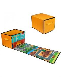 Корзина для игрушек 38х25х25 см Наша игрушка