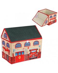 Корзина для игрушек Пожарная 40х25х37 см Наша игрушка