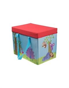 Корзина для игрушек Путешествие 35 5х23 5х27 5 см Наша игрушка