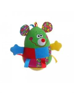 Развивающая игрушка Неваляшка Мышь 19 см Bondibon