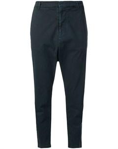 Укороченные брюки с низким шаговым швом Nili lotan