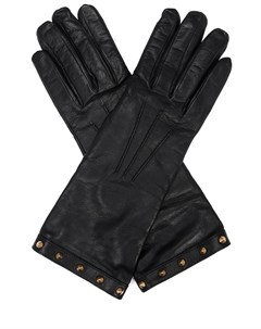 Перчатки кожаные Gucci