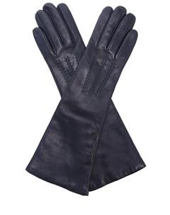 Перчатки удлиненные кожаные Malo
