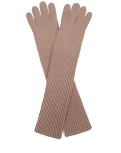 Длинные перчатки из кашемира Malo
