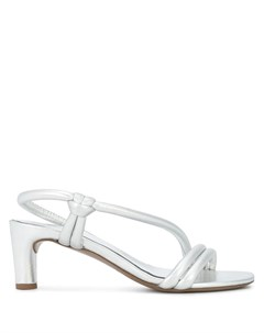 Туфли с открытым носком Del carlo