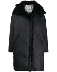 пальто оверсайз с капюшоном Yves salomon army