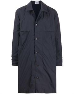 однобортное пальто длины миди Deveaux