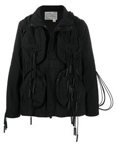 куртка с капюшоном и ремешками A-cold-wall*