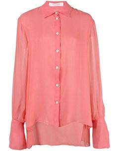 рубашка с оборками Carolina herrera